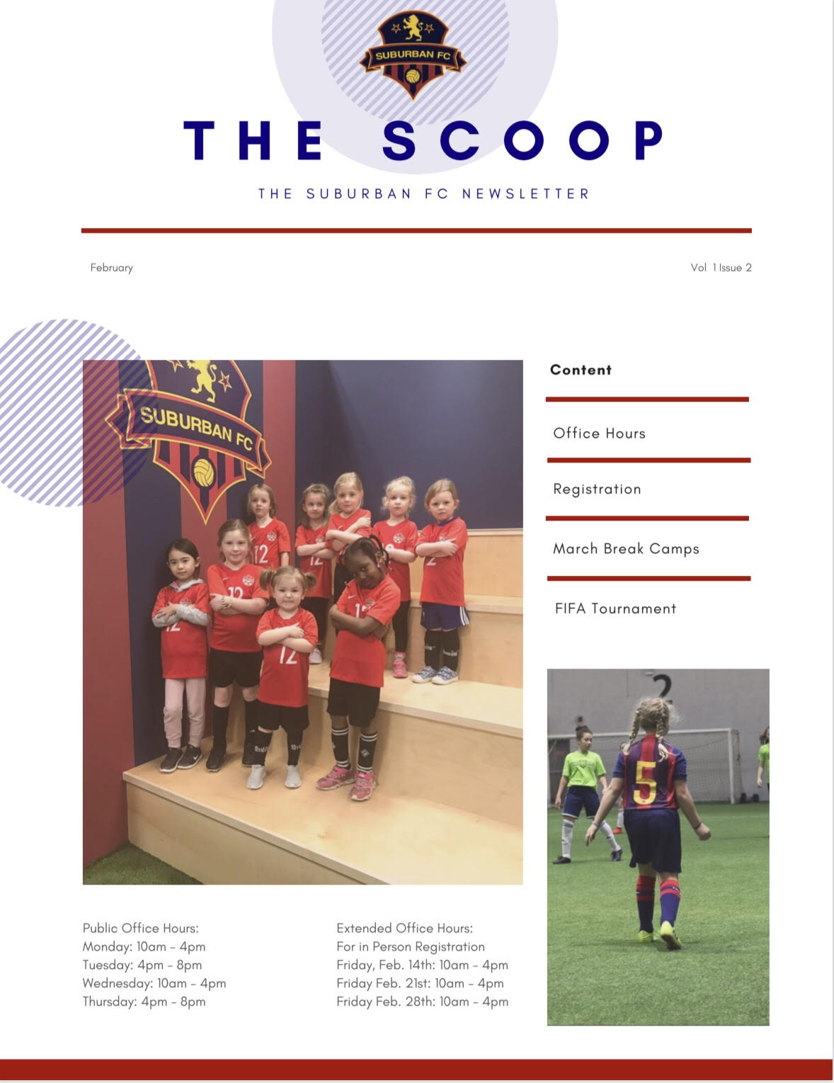 Suburban FC - The Scoop February 2020